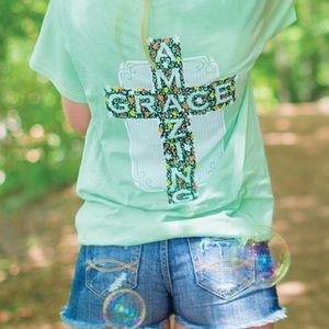 Itsa Girl Thing Tops - Amazing Grace T-Shirt
